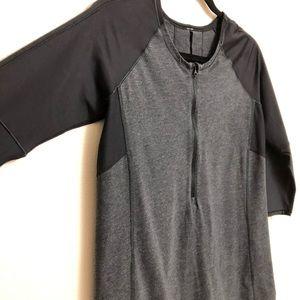 Lululemon athletica 3/4 sleeve spin shirt